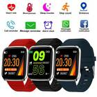 Fitness Smart Watch Activity Tracker Heart Rate For Women Men Fitbit iOS Android