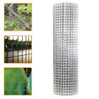 PVC Coated Welded Galvanised Wire Mesh Netting Chicken Fencing Roll Aviary Fence