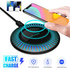 10W Qi Wireless Charger Fast Charging Stand Pad Mat Dock For Samsung iPhone LG