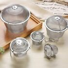 Stainless Steel Spice Seasoning Bag Mesh Ball Shape Tea Filter Basket Infuser $8.99 USD on eBay