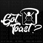 Got Toast? Vinyl Decal Sticker Scion XB Chopsticks Geisha Girl Badass JDM Funny $15.34 USD on eBay