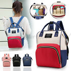 Portable Mummy Maternity Nappy Diaper Bag Large Capacity Travel Backpack  E Z J