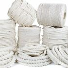 Natural Twisted Cotton Macrame Rope 3 Strand Cord Wall Hanging Plant Hangers DIY