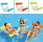 Inflatable Floating Water Hammock Float Pool Lounge Bed Swimming Chair