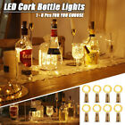 Bottle Lights Cork Led Fairy String Battery Shaped Wedding Party Home Decor