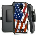 Holster Case For WIKO LIFE C210AE/ LIFE 2 U307AS Phone Cover-FULL WAVING US FLAG