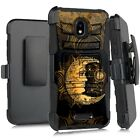 Holster Case For WIKO LIFE C210AE/ LIFE 2 U307AS Phone Cover - MOON OF TIME