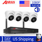 ANRAN 1080P Oneway Audio Home Wireless Security Camera System 1TB HDD WIFI Video