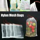 Garden Plant Fruit Protect Drawstring Net Bags Insect Pest Against V3y4