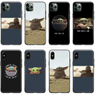 The Mandalorian Baby Yoda Star Wars Soft Silicone Case For iPhone Free Shipping $11.99 USD on eBay