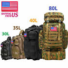 35L/80L Outdoor Military Rucksack Tactical Backpacks Camping Hiking Trek Bag USA