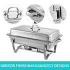 Catering Classic Chafer Chafing Dish Food Tray Buffet Full Stainless Steel