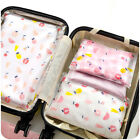 1pcs Travel Clothes Bag Seal Storage Waterproof Makeup Zip Lock Organiser Pouch