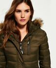 Superdry Womens Fuji Slim Double Zip Hooded Jacket <br/> RRP £89.99 - BUY FROM THE OFFICIAL SUPERDRY EBAY STORE