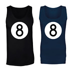 8 Ball Pool Logo Magic Fortune Vest Tank Top - Mens And Womens Sizes $16.95 USD on eBay