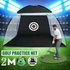 2M Outdoor Supersized Golf Practice Net Driving Chipping Cage Training Aid Net