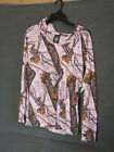 Wilderness Dreams Camouflage Loungewear Mossy Oak PBU Casual Hoodie Pink