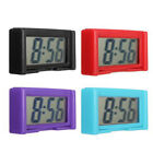 Portable Small Digital Clock LCD Date Time Calendar For Car Dashboard Table Desk