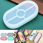 Silicone Oval Epoxy Resin Casting Molds Ashtray Mold Jewelry Making Mould DIY