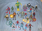 LOTS TO CHOOSE FROM SPIDERMAN MARVEL ACTION FIGURES HEROES VILAINS