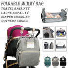 Travel Bassinet Folding Baby Bed Portable Diaper Changing Station Mummy Backpack