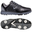Callaway Mens Mulligan S Golf Shoes Lightweight Waterproof Spiked Leather