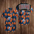 EDMONTON OILERS HOCKEY HAWAIIAN SHIRTS 3D $30.99 USD on eBay