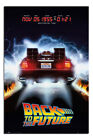 Laminated Back To The Future Delorean Poster Official Licensed 24x36""