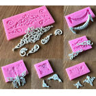 3d Silicone Cake Border Mold Fondant Lace Mold Diy Bakeware Accessories Hot