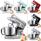 stand mixer electric food mixing 5 5l bowl beater dough hook whisk 6 speed 1500w