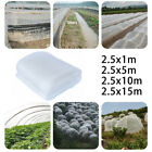 1/5/ 10/ 15m Garden Insect Netting Veg Mesh Orchard Crop Net Plant Protect Cover