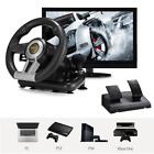 For PS3 PS4 Xbox One Window PC PXN V3II Steering Wheel Racing Game w/Brake Pedal
