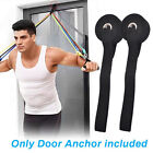 1/5pc Fitness Resistance Bands Over Door Anchor Elastic Band Training Exercise S