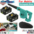 2 in 1 Cordless Leaf Dust Blower Vacuum Tool For Makita W/ 18V Li-ion Battery US