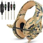 US Wired Stereo Bass Surround Gaming Headset for PS4 New Xbox One PC with Mic K1