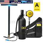 Kyпить DIDEEP X400 Pro 1L Scuba Tank Diving Oxygen Dive Equipment Inflator Pump Kit Set на еВаy.соm