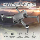 CSJ X7 PRO GPS RC Drone Camera HD 4K 5G Wifi FPV 2-axis Quadcopter 3 Batteries
