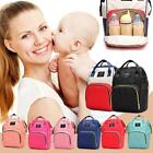 Dot Print Mommy Large Capacity Travel Backpacks Baby Nursing Diaper Nappy Bags