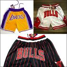 Orlando Magic Chicago Bulls Los Angeles Lakers Vintage Mens Shorts S-2XL USA on eBay