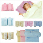 Newborn Safe Anti Roll Pillow Sleep Flat Head Position Support Cushion FM