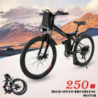 26'' Electric Bike Mountain Bicycle Ebike Shimano 21 Speed 250/350W Li-Battery