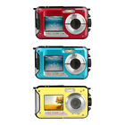 Waterproof Digital Camera 1080P HD 2.4MP Dual Screen Underwater DV Recorder /Lot