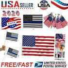 3'x5' Thin Blue Line Police Lives Matter Law Enforcement American USA US Flag