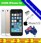 (new & Sealed) Apple Iphone 5s | 4g Smartphone | Factory Unlocked | Grey 64gb