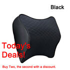 Car Seat Headrest Pad Memory Foam Travel Pillow Head Neck Rest Support Cushion