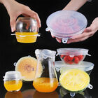 Silicone Stretch Lids, Various Sizes Cover for Bowl, Airtight, Platters, Jars