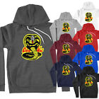 Funny Graphic No Mercy Strike Hard Cobra Kai Karate Kid Unisex Pullover Hoodie