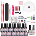 MAD DOLL 20 Bottles/set UV Gel Polish UV LED Lamp Nail Dryer Nail Art Tool Kit