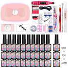 MAD DOLL 30 Bottles/set UV Gel Polish UV LED Lamp Nail Art File Brush Tool Kit