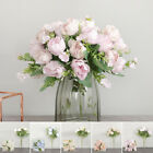 Artificial Flower Peony Wedding Home Table Decoration Fake Accessories